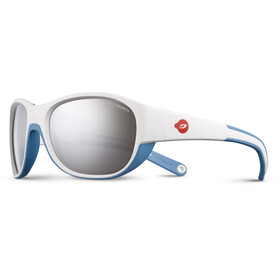 Julbo Kids 4-6Y Luky Spectron 3+ Sunglasses White/Blue-Gray Flash Silver